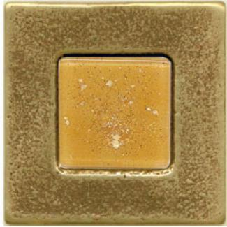 Miila Studios Bronze Braelona 2 X 2 Barcelona With Peach Ice Tile & Rock