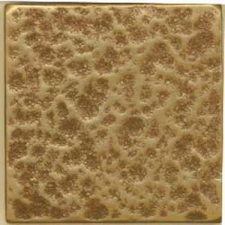 Miila Studios Bronze Decos Hammered Tile & Stone