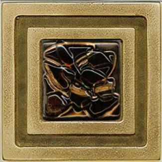 Miila Studiks Bronze Milan 4 X 4 Milan With Green Tiger Tile & Stone