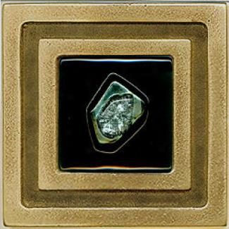 Miila Studios Bronze Milan 4 X 4 Milan With Jade Tile & Stone