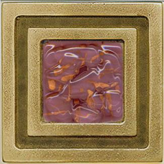 Miila Studios Brown Milan 4 X 4 Milan With Purple Haze Tile & Stone