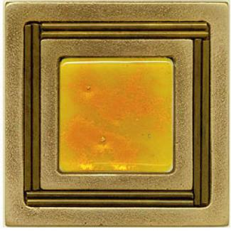Miila Studios Bronze Monte Carlo 4 X 4 Monte Carlo With Sunburst Tile & Face with ~