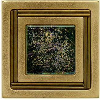 Miila Studios Bronze Monte Carlo 4 X 4 Monte Carlo With Irid Cloud Tile & Stone