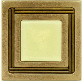 Miila Studios Bronze Mon5e Carlo 4 X 4 Monte Carlo With Light Lemon Tile & Stone