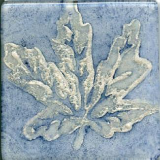 Miila Studios Elements Glass Tile 2 X 2 Maple Blue Silver Tile & Stone