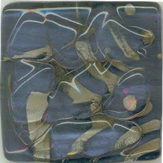 Miila Studios Srony Creek Glass Tile 12 X 12 Royal Lake Tile & Rock