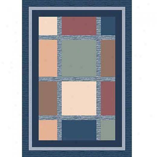 Milliken Ababa 3 X 4 Royal Area Rugs
