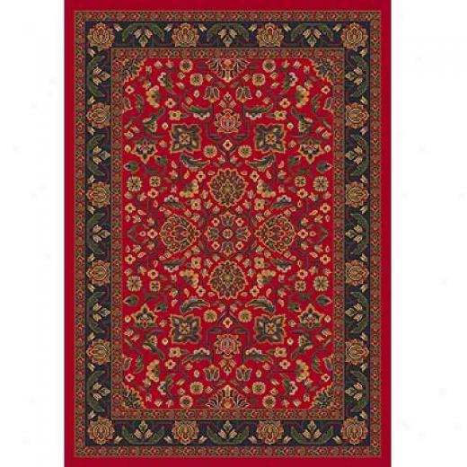 Milliken Abadan 3 X 4 Currant Red Area Rugs