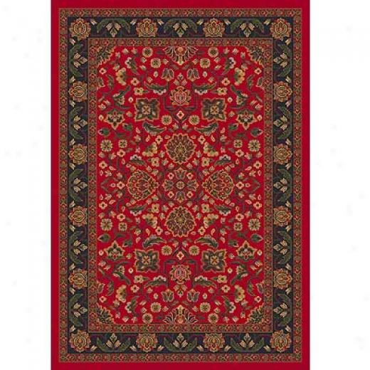 Milliken Abadan 5 X 8 Currant Red Area Rugs