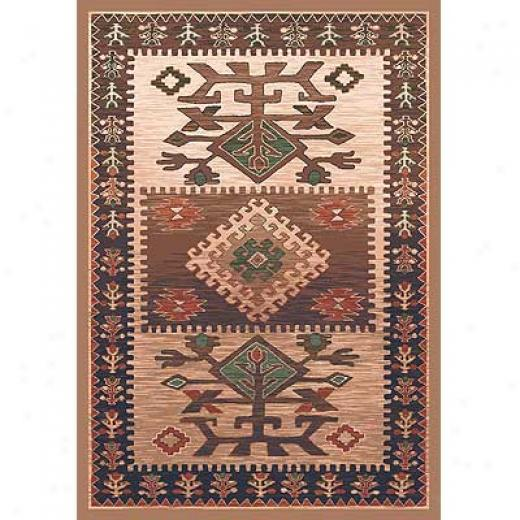 Milliken Ahvas 3 X 4 Brown Area Rugs