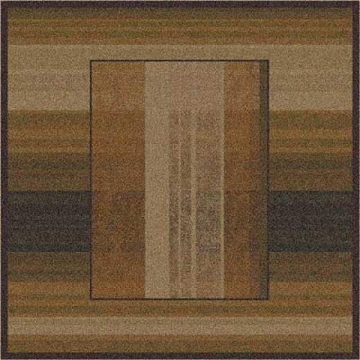 Milliken Aspire 8 Square Dark Chocolate Area Rugs