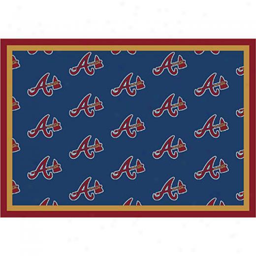 Milliken Atlanta Braves 5 X 8 Atlanta Braves Iterate Area Rusg