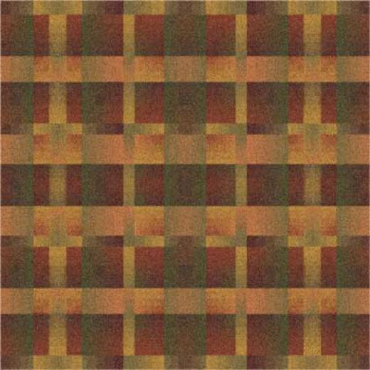 Milliken Aura 8 Square Fall Orang Area Rugs