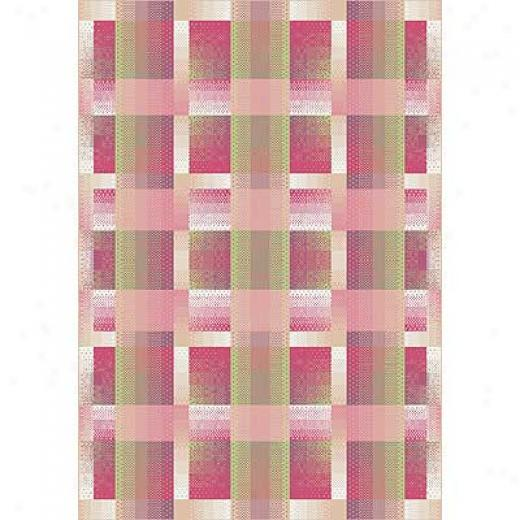 Milliken Effluence 8 X 11 Pinky Area Rugs
