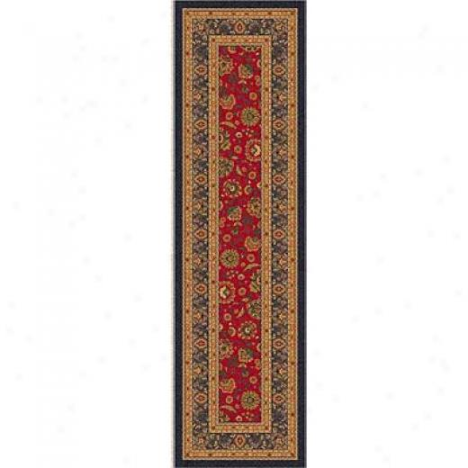 Milliken Aydin 2X  16 Runner Currant Red Area Rugs