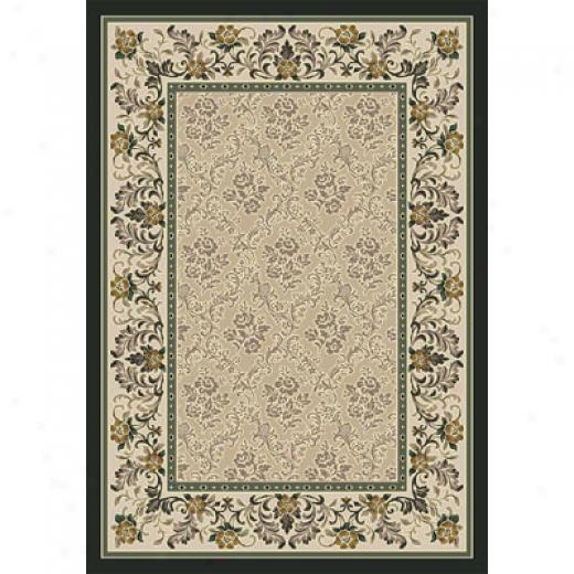 Milliken Banbury 2 X 8 Messenger Emerald Antique Yard Rugs