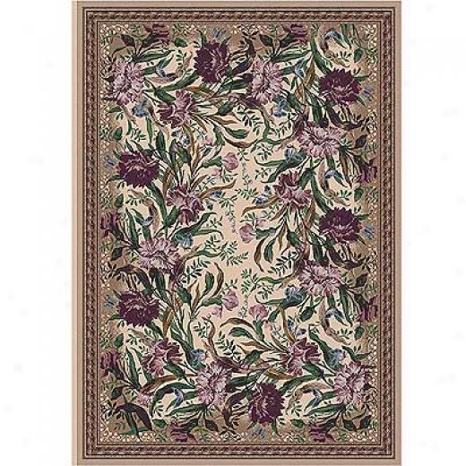 Milliken Barrington Court 3 X 4 Heathered Rose Area Rugs