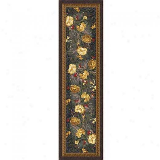 Milliken Barrinvton Court 2 X 16 Runner Ebony Area Rugs