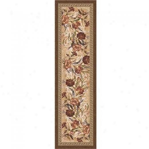 Milliken Barrington Court 2 X 8 Runner Cocoa Area Rugs