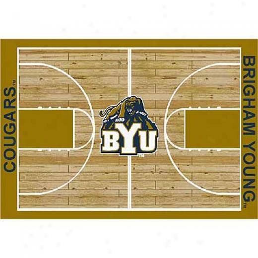 Milliken Bringham Youmg Cougars 4 X 5 Bringham Young Cougar Area R8gs