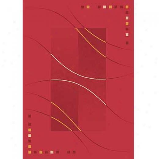 Milliken Caliente 8 X 11 Rouge Area Rugs