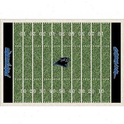 Milliken Carolina Panthers 11 X 13 Carolina Panthers Field Area Rugs