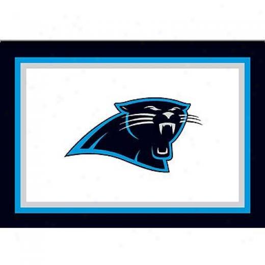 Milliken Carolina Panthers 5 X 8 Caorlina Panthers Spirit Area Rugs