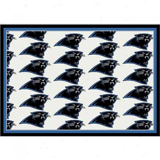 Milliken Carolina Panthers 11 X 13 Carolina Panthers Team Arsa Rugs