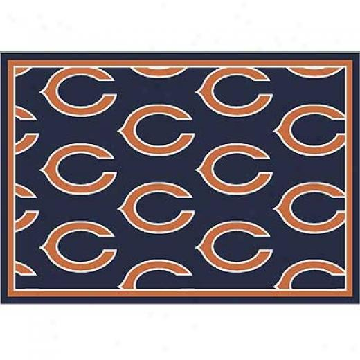 Milliken Chicago Bears 5 X 8 Chicago Bears Team Yard Rugs