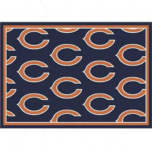 Milliken Chicago Beasr 8 X 11 Chicago Bears Field Area Rugs