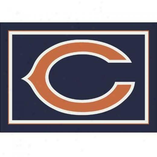 Milliken Chicago Bears 8 X 11 Chicago Bears Spirit Area Rugs