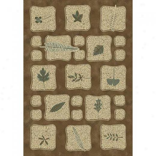 Milliken Chlorophyll 8 X 11 Dark Amber Antique Area Rugs