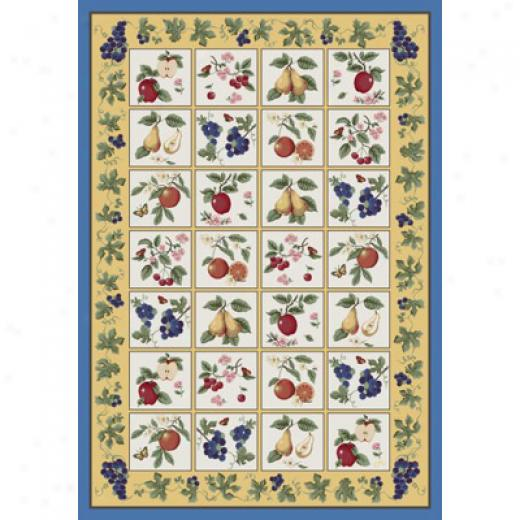 Milliken Claires Orchard 7475/280 11 X 13 Paprika Area Rugs