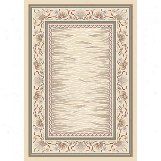 Milliken Coral Bay 4 X 5 OpalS andstone Area Rugs