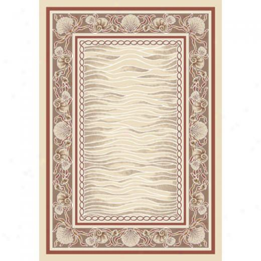 Milliken Coral Bay 8 X 8 Square Opal Light Coral Area Rugs