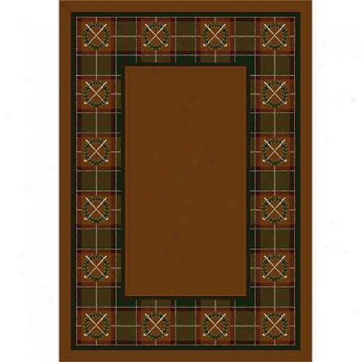 Milliken Country Clubs 4 X 5 Dark Amber Area Rugs