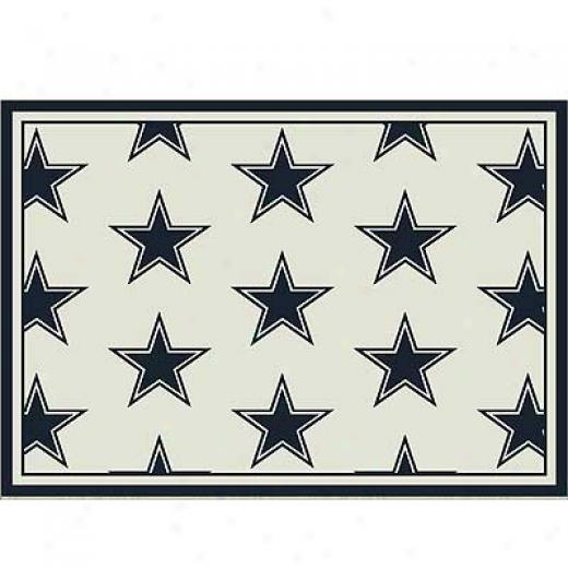 Milliken Dallas Cowboys 5 X 8 Dallas Cowboys Team Area Rugs
