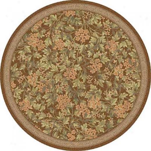 Milliken Delphi 8 Round Nutmeg Are Rugs