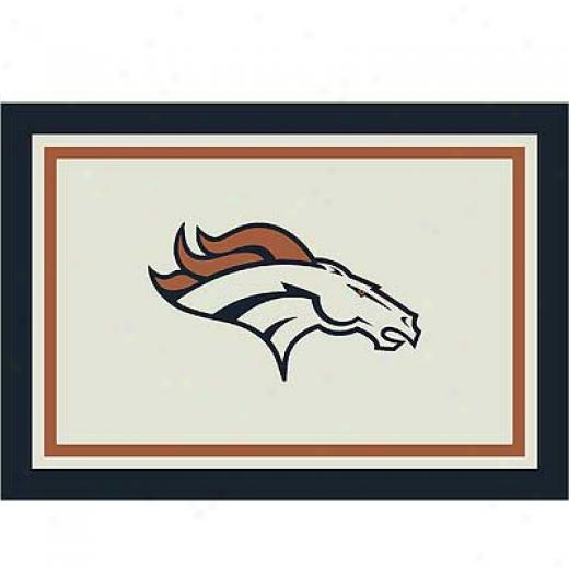 Milliken Denger Broncos 5 X 8 Denver Broncos Spirit Area Rugs