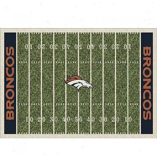 Milliken Denver Broncos 8 X 11 Denver Broncos Field Area Rugs