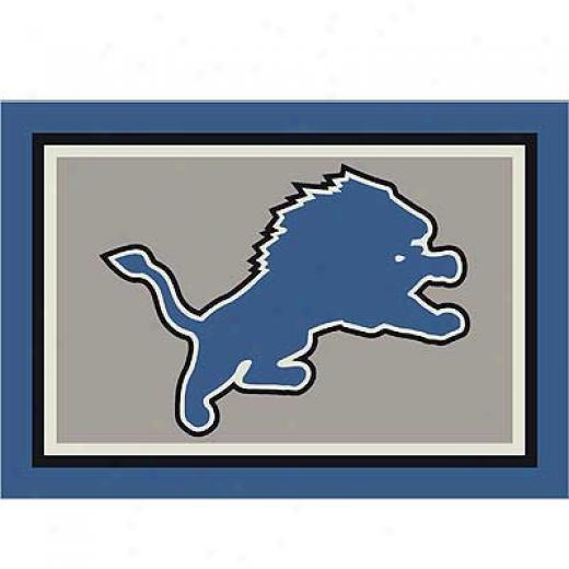Milliken Detroit Lions 11 X 13 Detroit Lions Spirit Area Rugs