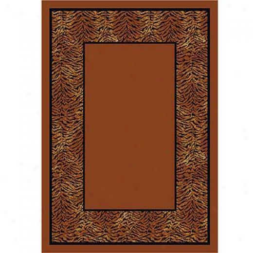 Milliken Domo 2 X 12 Runner Tiger Area Rugs