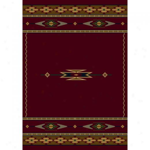 Milliken Eagle Canyon 8 X 8 Square Garnet Area Rugs