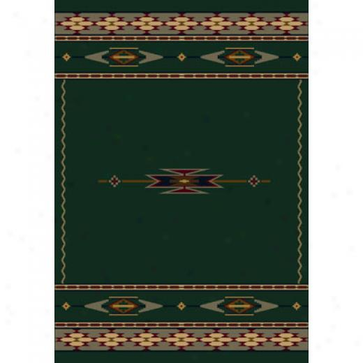 Milliken Eagle Canyon 8 X 8 Square Emerald Area Rugs