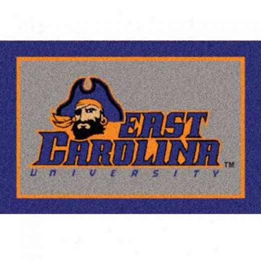 Milliken East Carolina University 5 X 8 East Carolina Area Rugs