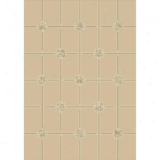 Milliken Geometrica 11 X 13 Opal Antique Area Rugs