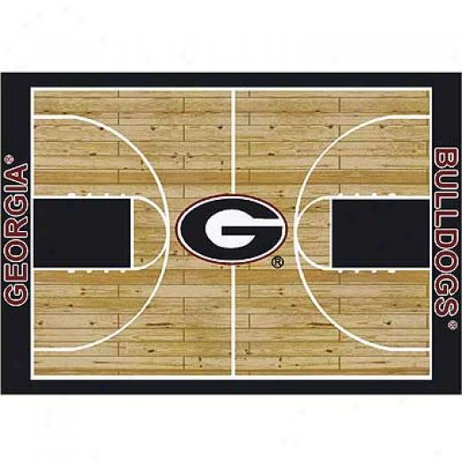 Milliken Georgetown Bullxogs 11 X 13 Georgia Bulldogs Area Rugs