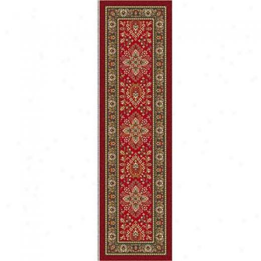 Milliken Halkara 2 X 8 Red Cinnamon Area Rugs
