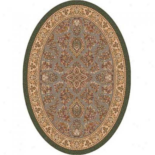 Milliken Halkara 4 X 5 Oval Autumn Forest Area Rugs
