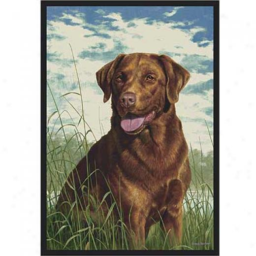 Milliken Hautman Collection 3 X 4 Chocolate Lab Area Rugs